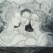 Tre gudinnor